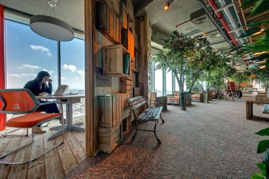 Google's Eclectic Tel Aviv Office Space