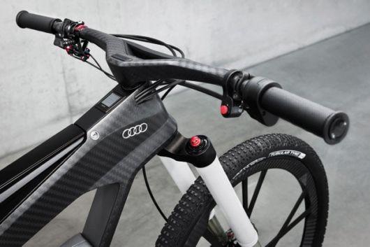 Audi E-Bike - A Bicycle That Runs At 80 Kmph