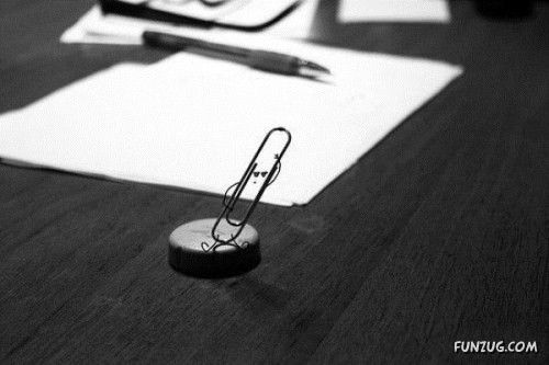 A Secret World Of Paper Clips