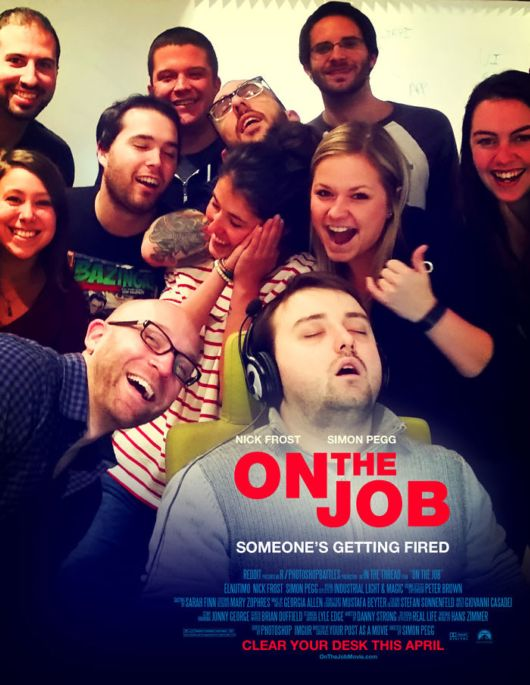 Tired Guy Falls Asleep At Work And The Internet Takes Him On Photoshop Adventures