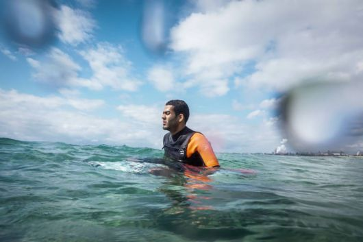 Exceptionally Talented Blind Guy Became A Professional Surfer