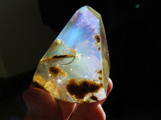 Finding the Ocean Inside An Opal