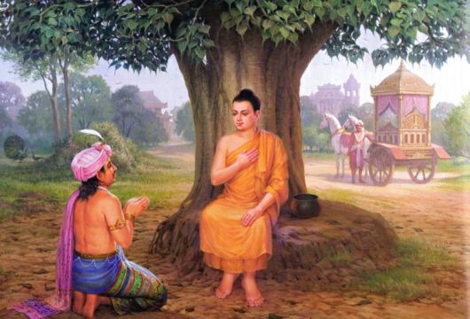 The Life Of Lord Buddha In Pictures