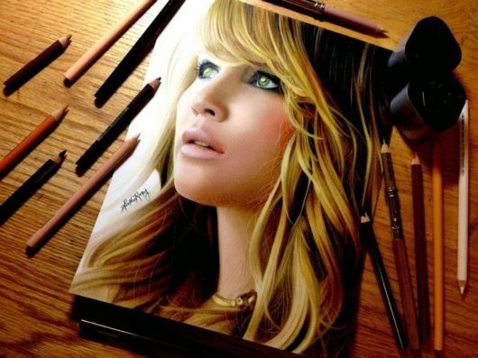 Fabulous Colored Pencils Portraits By Heather Rooney