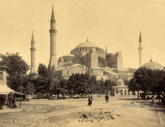The Hagia Sophia Museum In Istanbul, Turkey