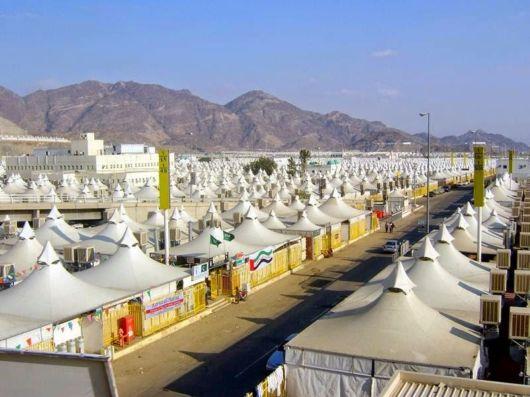 The Tent City Of Mina, Saudi Arabia