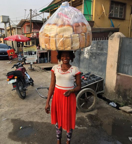 A Bread Seller Becomes A Fashion Model
