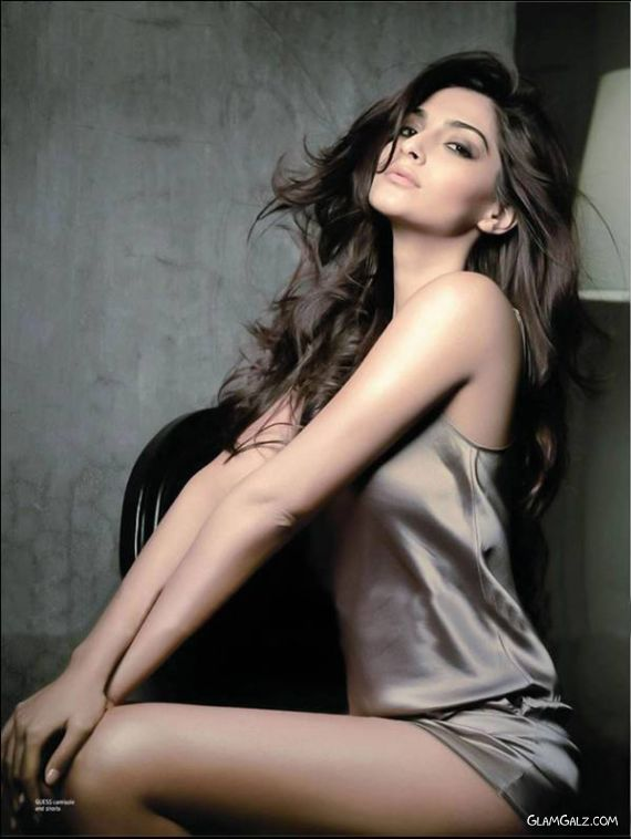 Sonam Kapoor Heating Up Maxim Pages