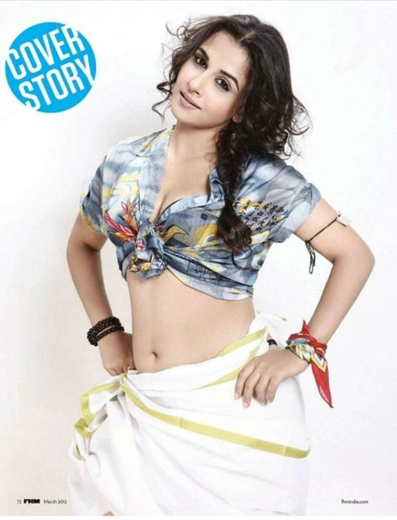 Vidya Balan Scans from FHM