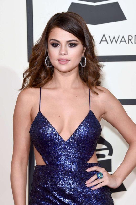 Selena Gomez At 58th Annual GRAMMY Awards