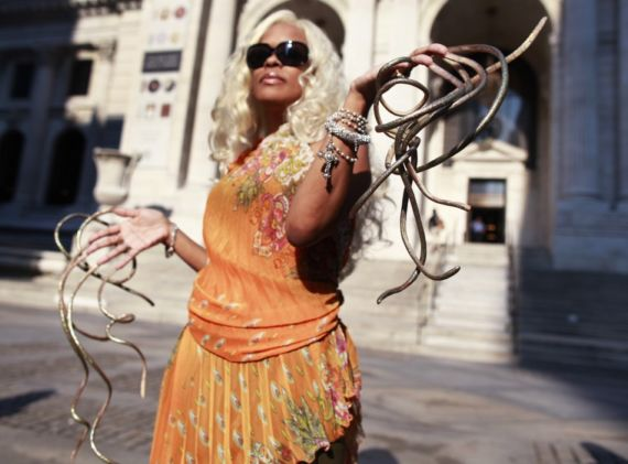 Woman With Worlds Longest Fingernails