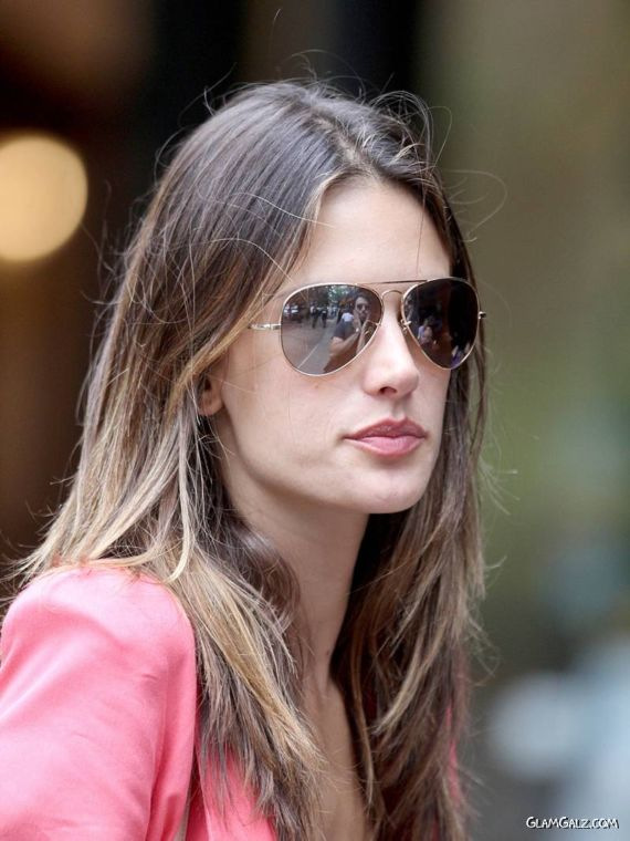 Alessandra Ambrosio Candids in NYC