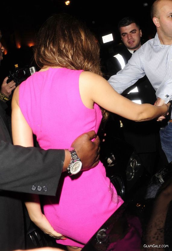 Cheryl Cole Arriving At Mahiki Club