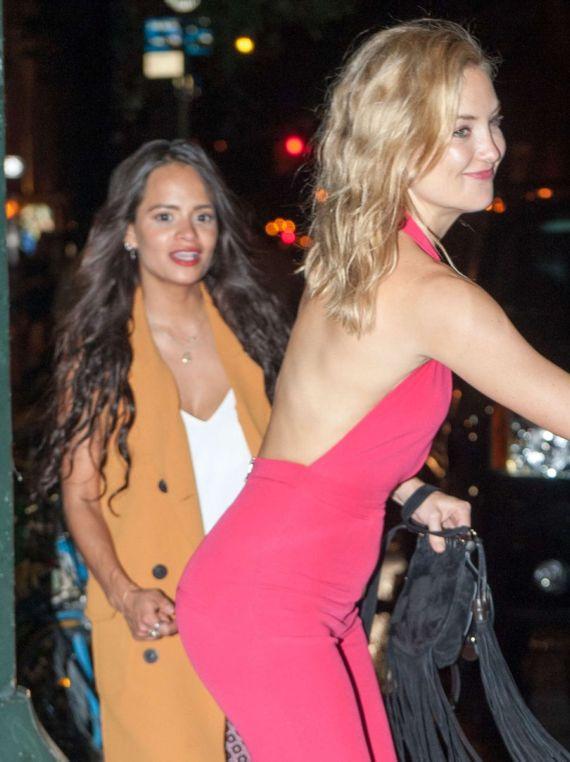 Kate Hudson Leaving A Nighclub In New York City