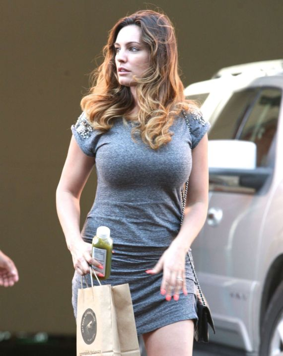 Kelly Brook Out And About In Beverly Hills