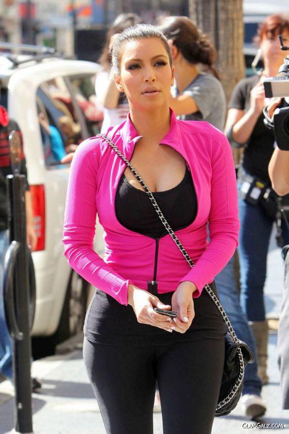 Miss Kardashian At International Dance Academy
