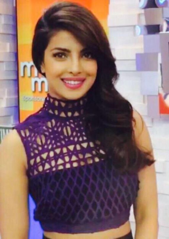 Priyanka Chopra On Good Morning America Show For Quantico