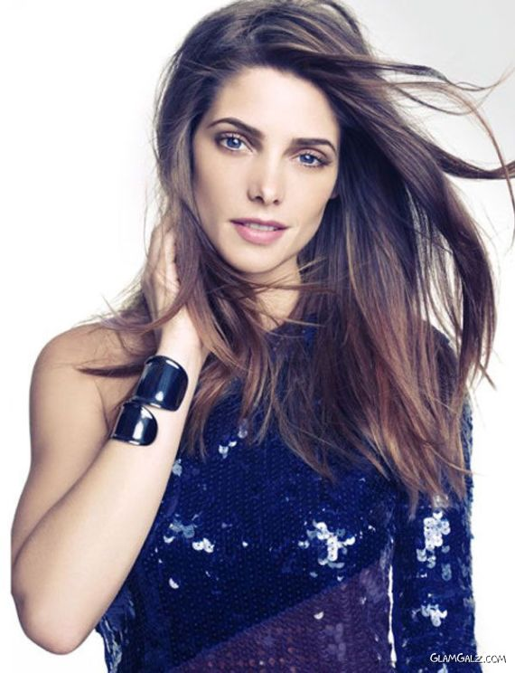 Ashley Greene Is Shoots For Marie Claire