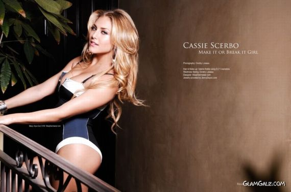 Cassie Scerbo Shoots For Regard Magazine