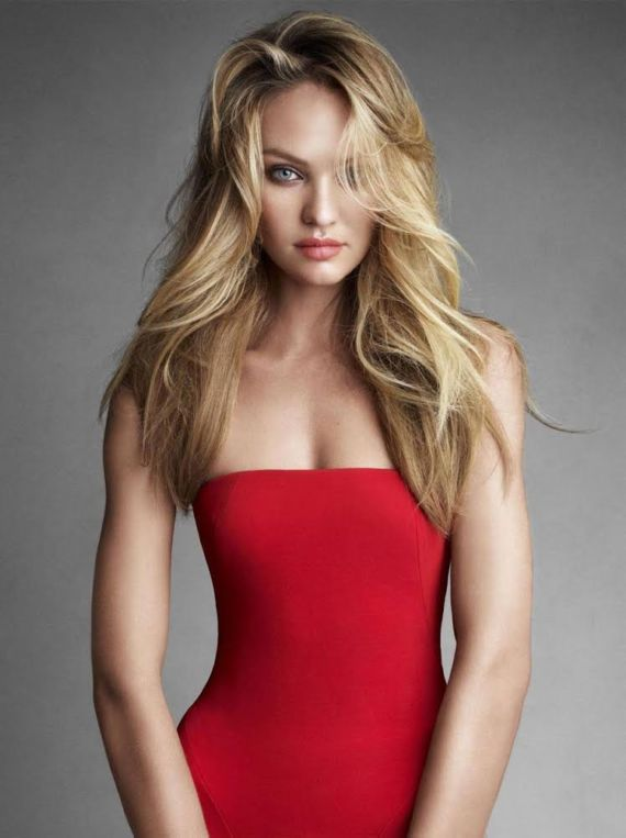 Candice Swanepoel Photoshoot For Vogue Mag