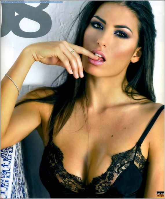 Elisabetta Gregoraci Exclusive Shoot