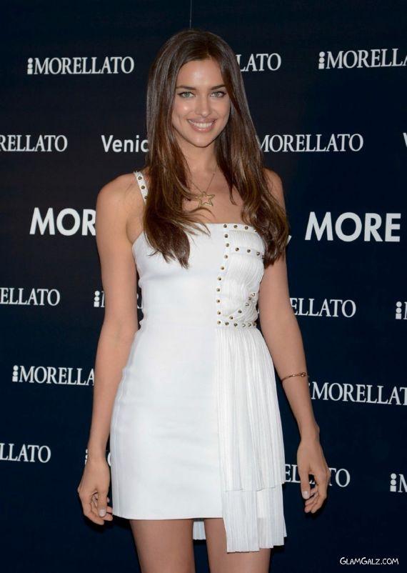 Irina Shayk Promotes Morellato Jewellery