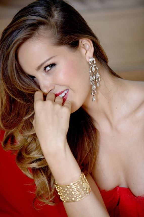 Petra Nemcova Looks Good In Red