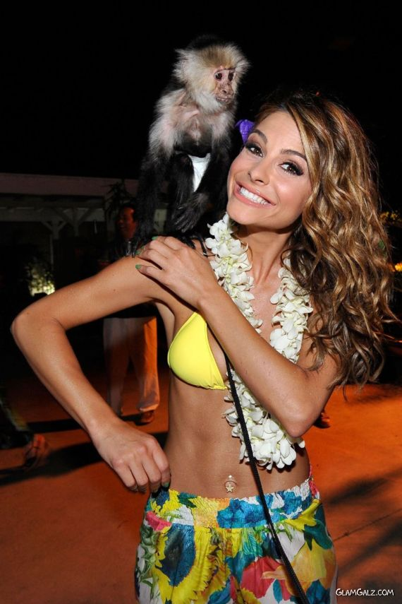 Maria Menounos Celebrates Her Birthday