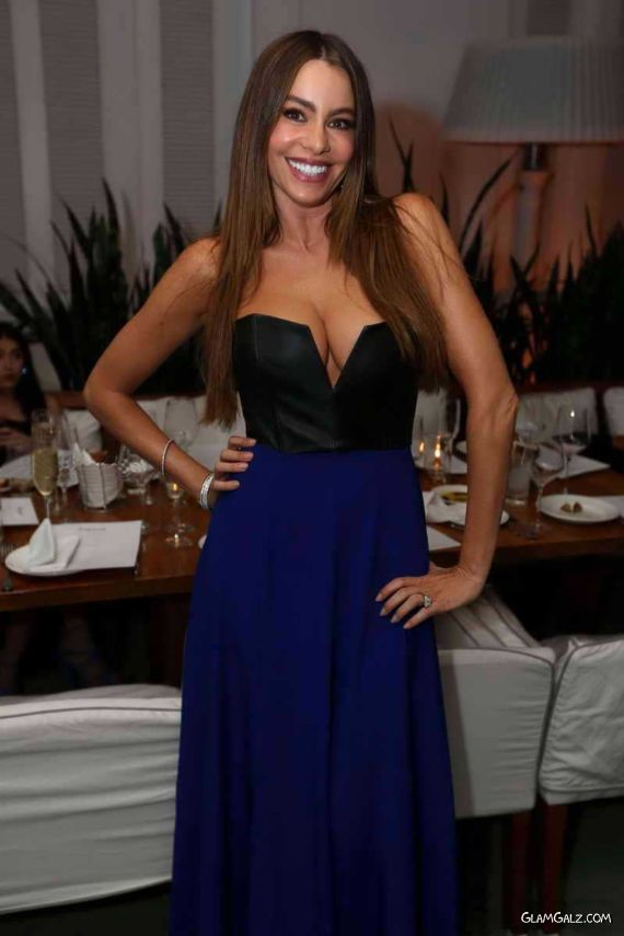 Sofia Vergara At Delano South Beach Party