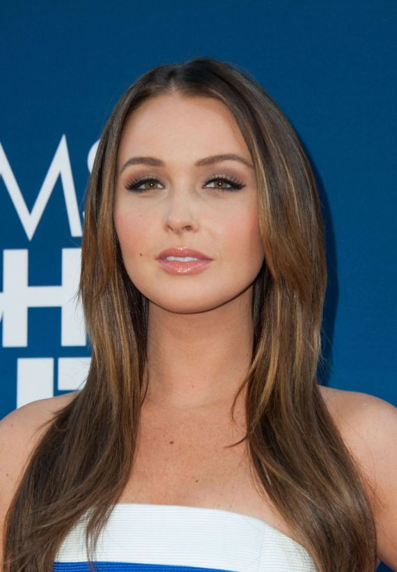 Camilla Luddington At The MNO Premiere