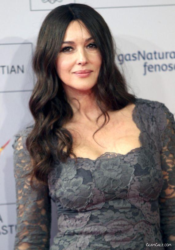 Monica Bellucci Attends Fasle Kargadan Premiere