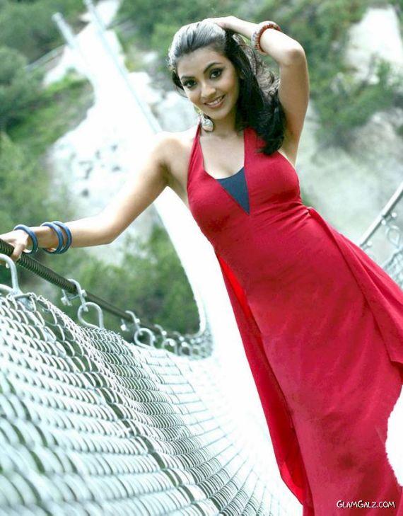 Lovely Kajal Agarwal on The Bridge