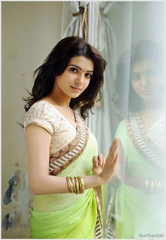 Gorgeous Samantha Prabhu In Saree