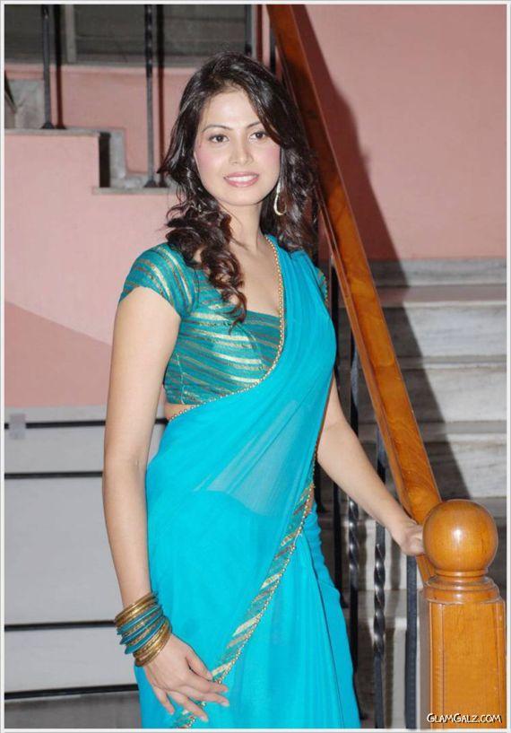 Supriya Shailaja Saree Photoshoot