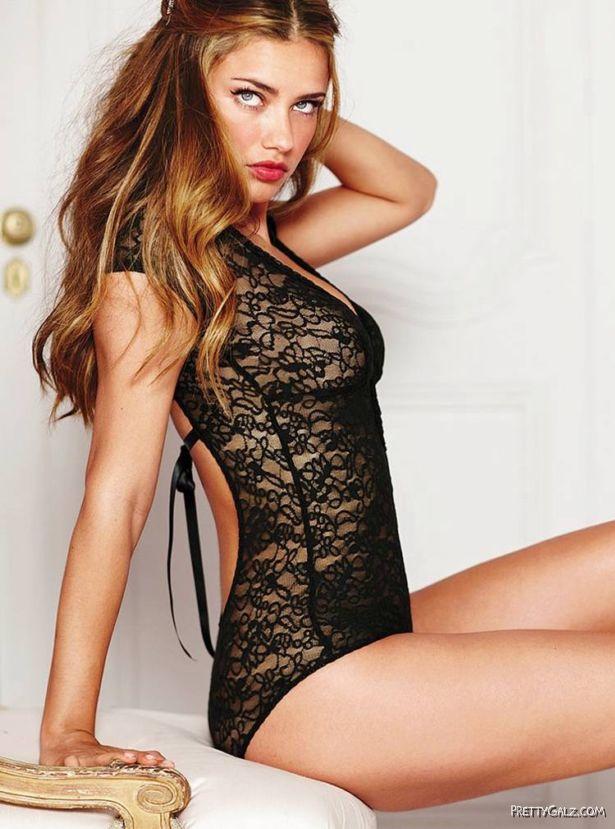 Adriana Lima For Victorias Secret Photoshoot