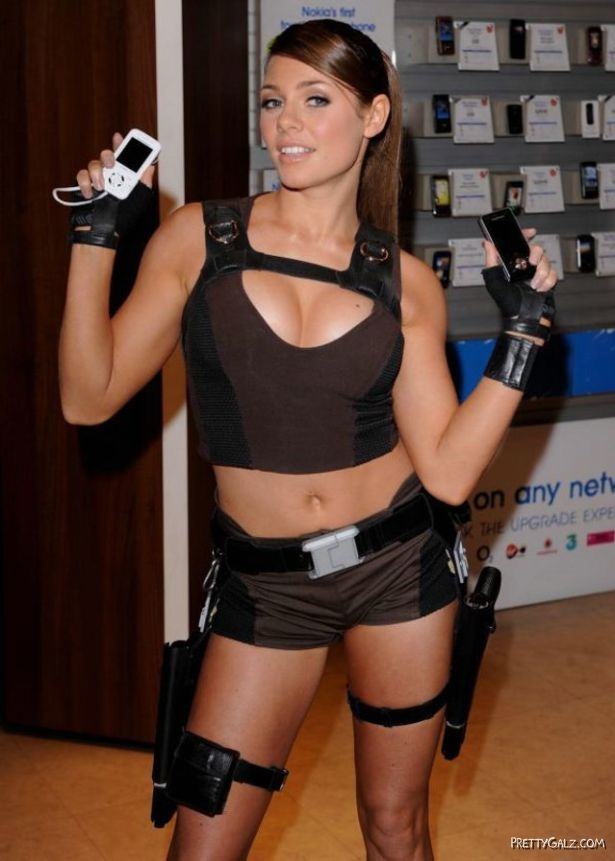 New Lara Croft Alison Carroll