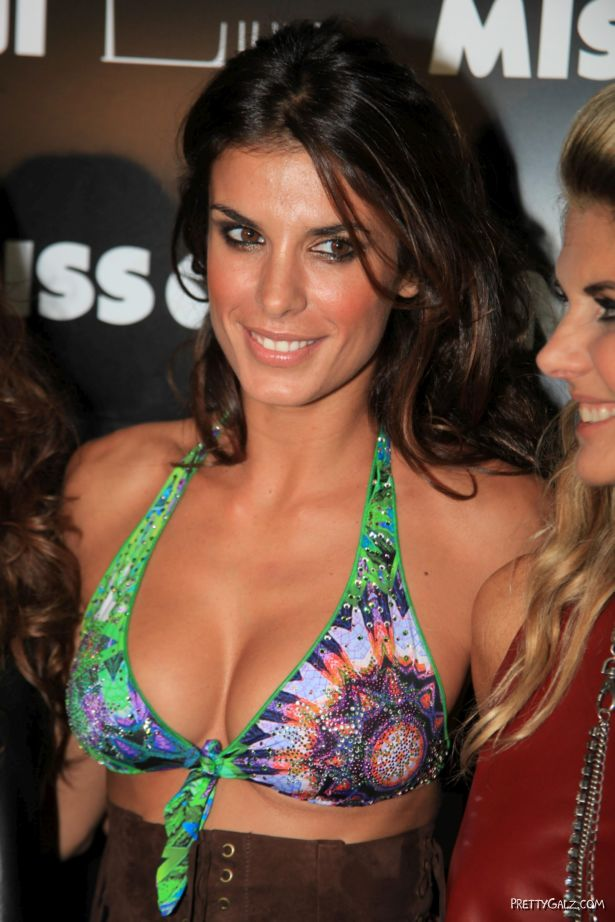 Elisabetta Canalis At Miss Bikini Fashion Show