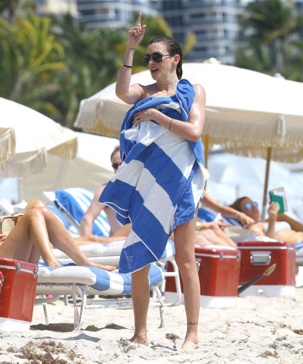 Katie Cassidy On A Bikini Vacation In Miami