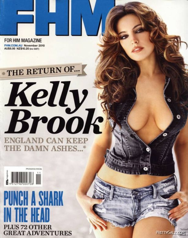 Kelly Brook For FHM Australia