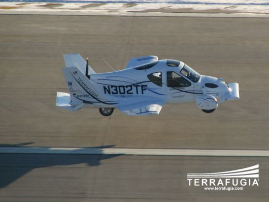 Amazing Flying Car By Terrafugia